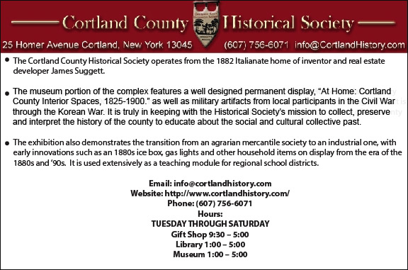 Cortland County Historical Society
