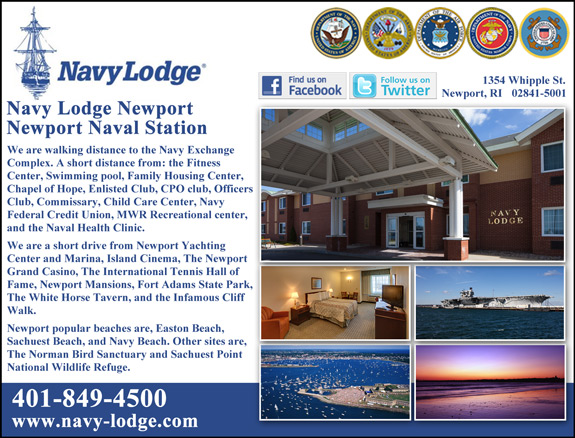 Navy Lodge Newport CT