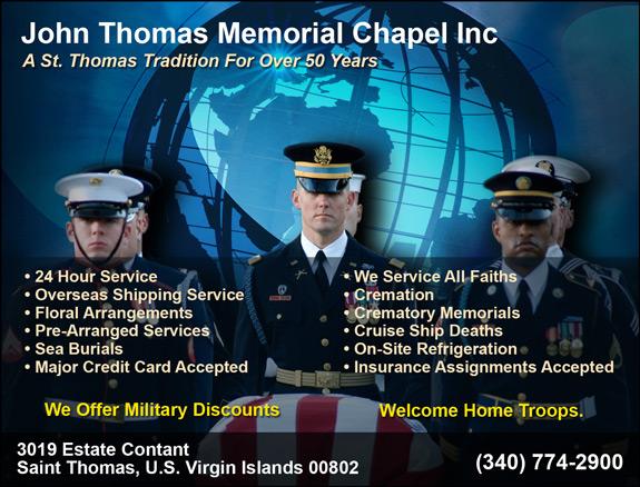 John Thomas Memorial Chapel, Inc.
