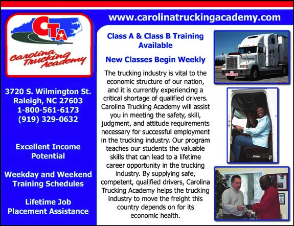 Carolina Trucking Academy
