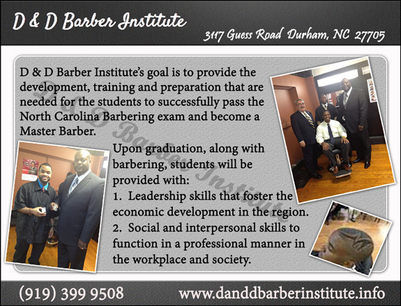 D and D Barber Institute