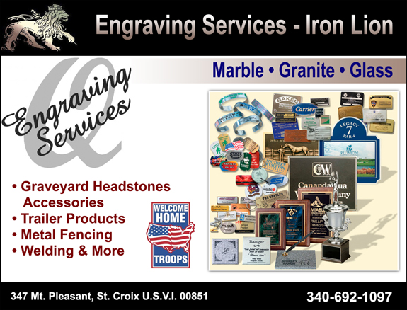 Engraving Services (Iron Lion)