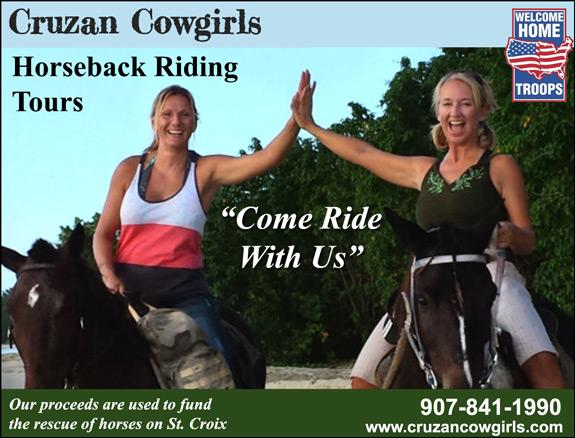 Cruzan Cowgirls Horseback Riding Tours