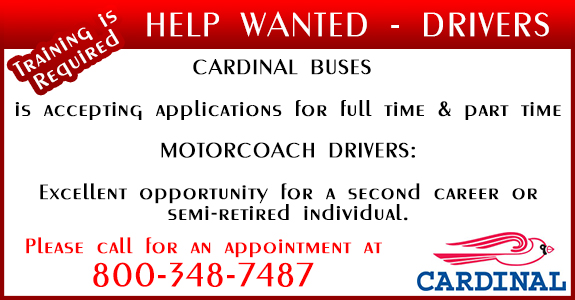 Cardinal Buses, Inc