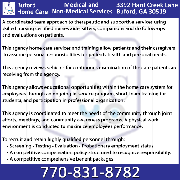 Buford Home Care, LLC