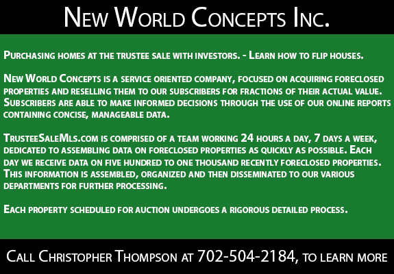 New World Concepts Inc.