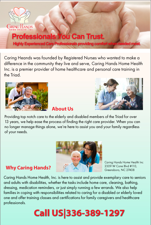 Caring Hands Home Health