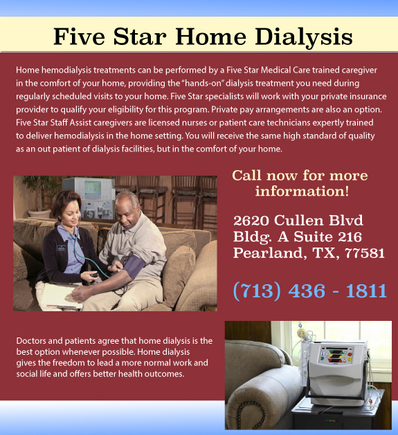Five Star Home Dialysis