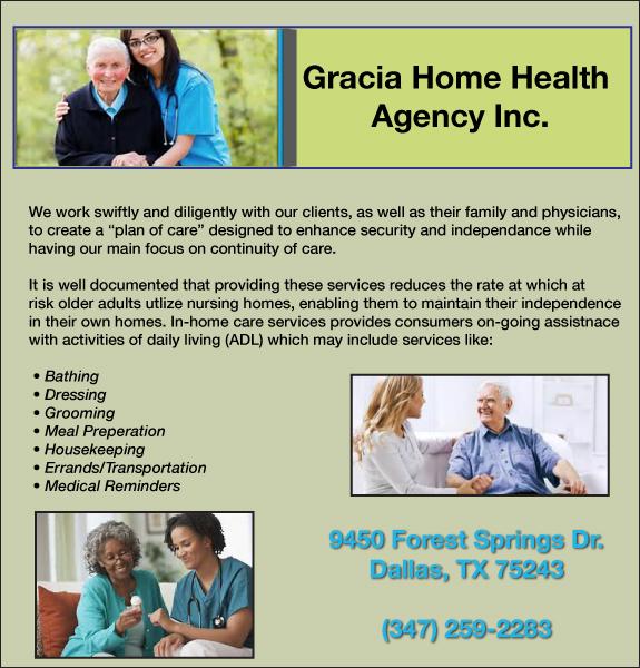 Gracia Home health Agency Inc.