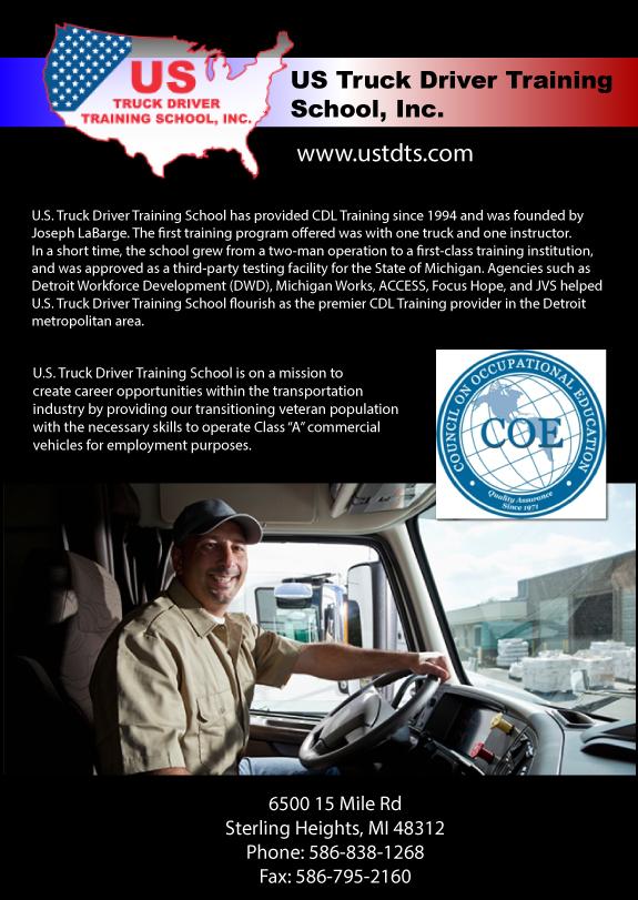 truck driver training in michigan