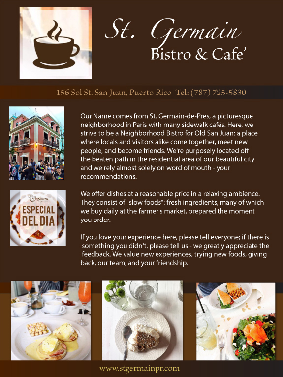 St. Germain Bistro and Cafe'