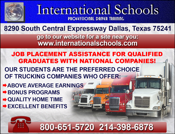 International Truck Driving