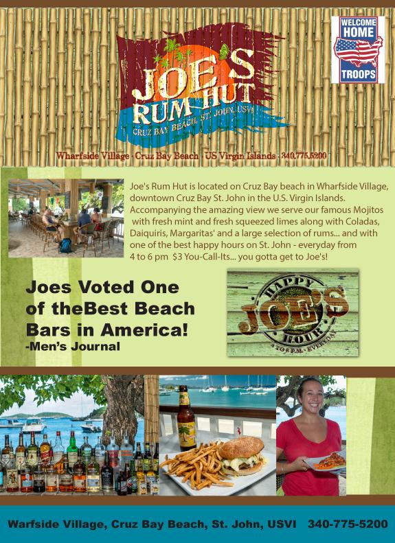 Joes Rum Hut