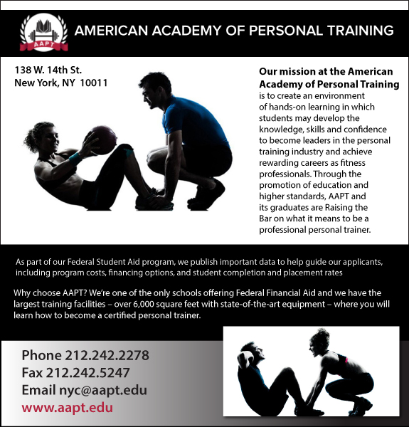 Veterans View Personal Trainer Fitness Instruction New York