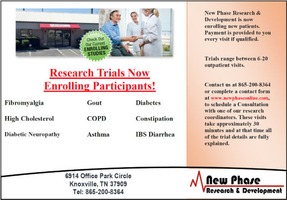 New Phase Clinical Research and Development LLC