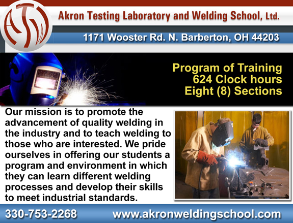 Akron Testing Lab Welding