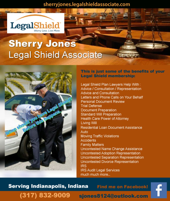 Sherry Jones Legal Shield Associate
