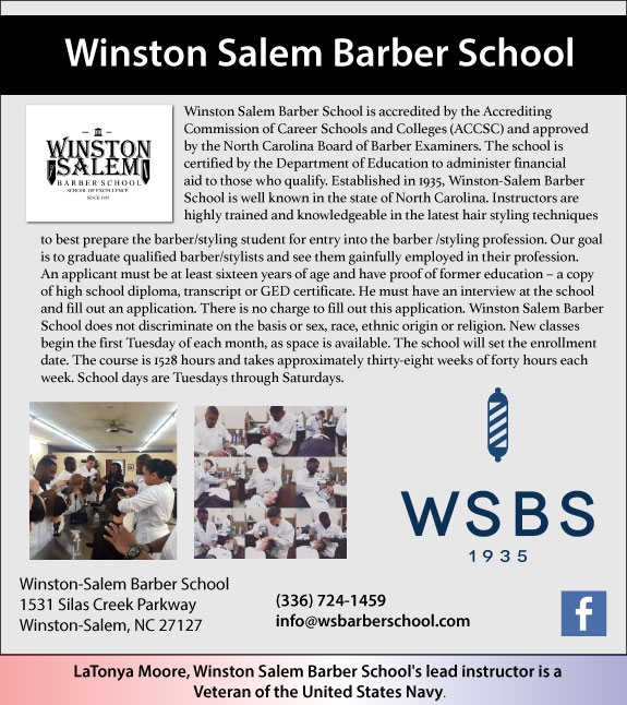 Winston Salem Barber School
