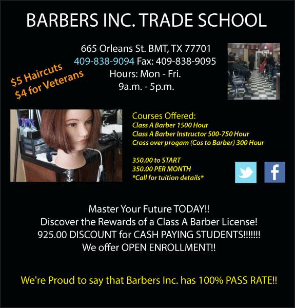 Barber's Inc.