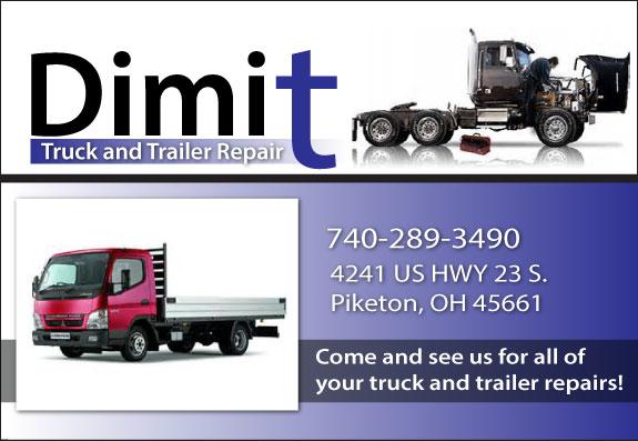 Dimit Truck and Trailer Repair