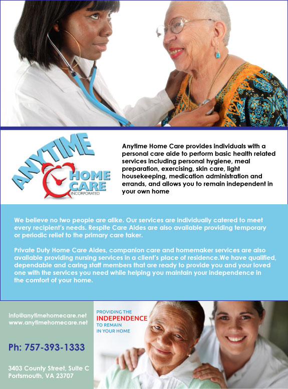 Anytime Home Care Inc