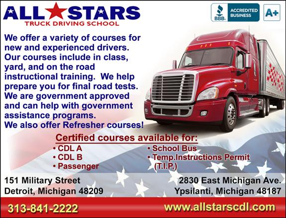 Veterans View Cdl Training Detroit Michigan
