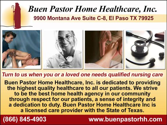 Buen Pastor Home Healthcare INC