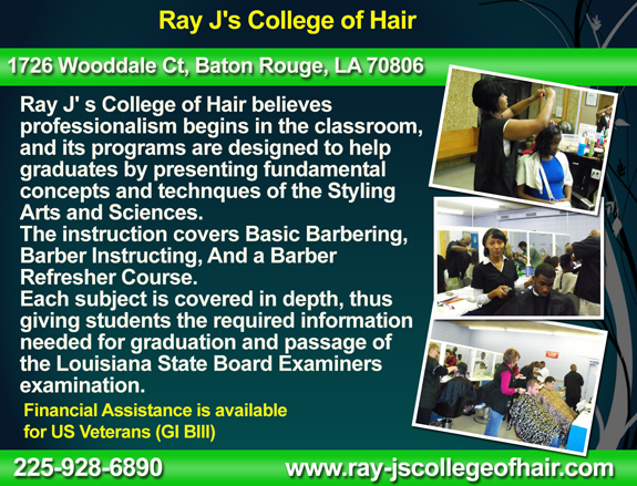 Ray J's College of Hair