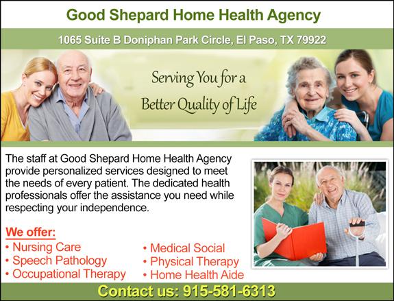 Good Shepard Home Health Agency