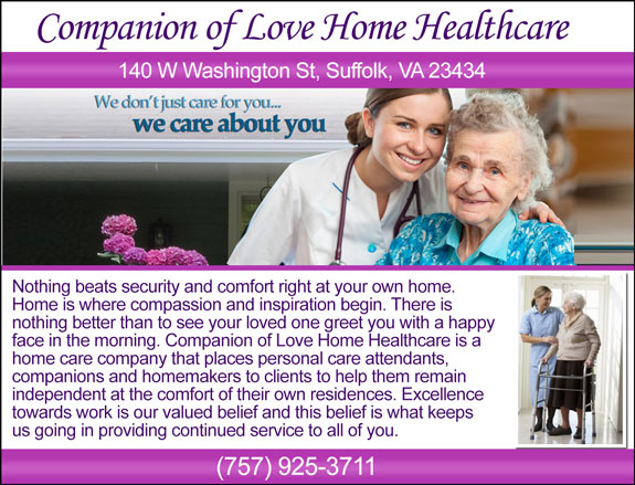 Companion of Love Home Healthcare