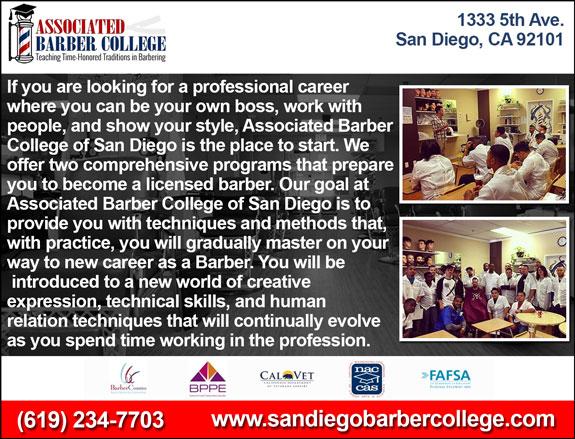 Veterans View Barber Training San Diego California