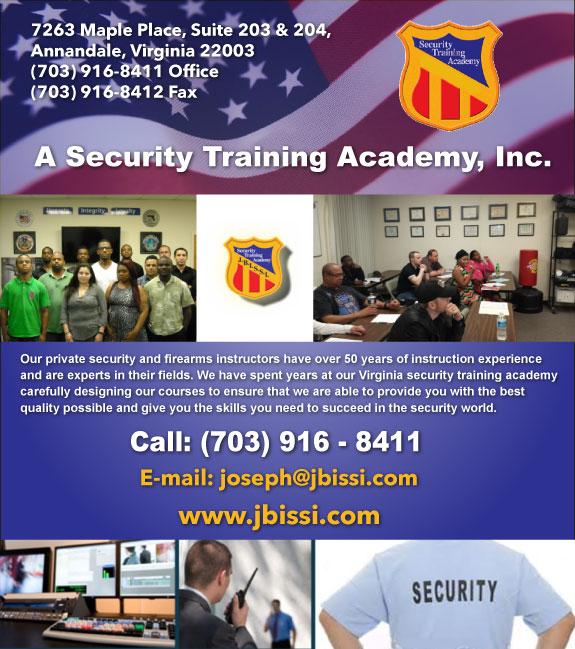 A Security Training Academy, Inc.