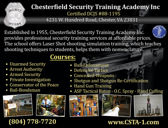 Chesterfield Security Training Academy