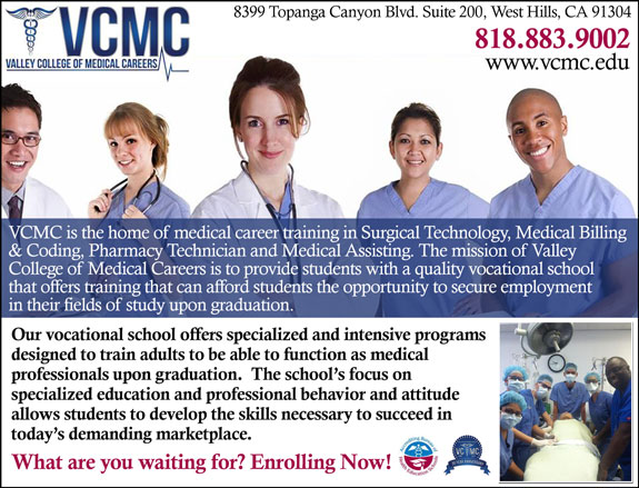 Valley College of Medical Careers