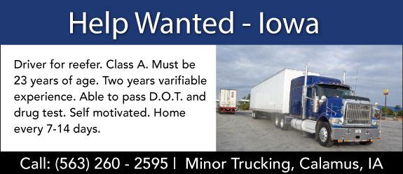 Minor Trucking
