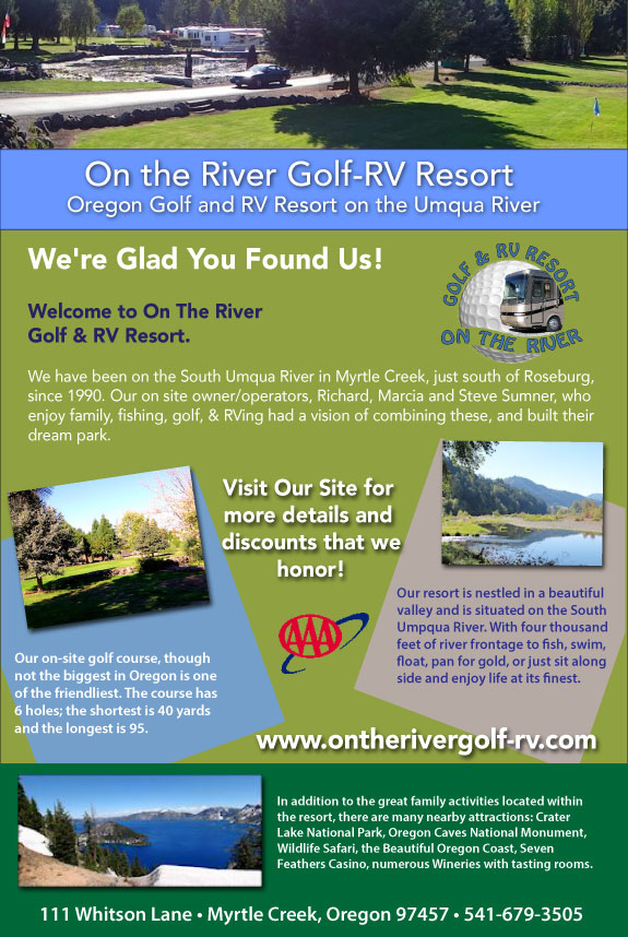 On The River Golf and RV Resort