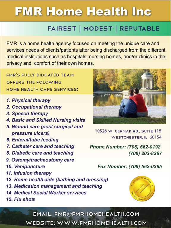 FMR Home Health Inc