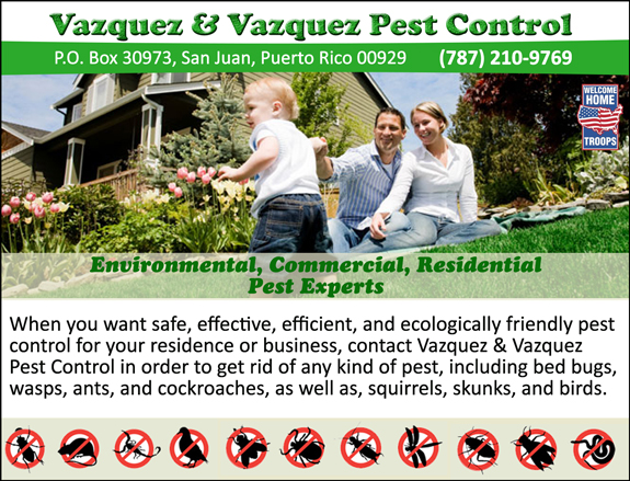 Vazquez & Vazquez Pest Control