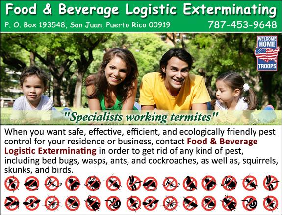 Food & Beverage Logistic Exterminating