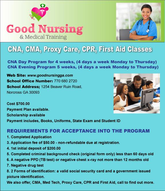 Good Nursing Medical Training