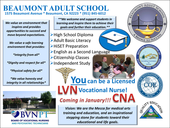 Beaumont Adult School