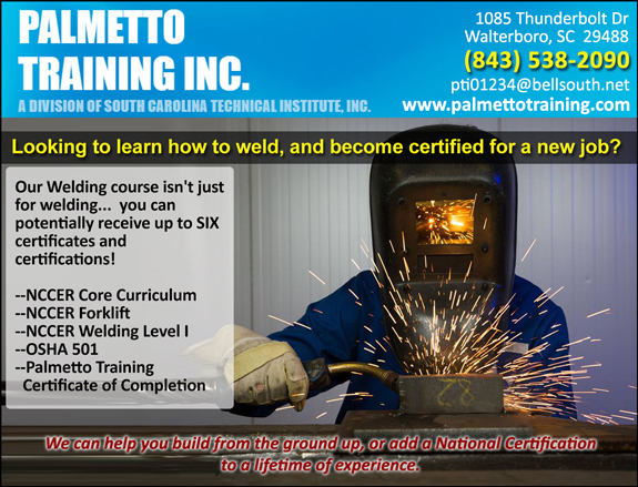 PALMETTO TRAINING INC.