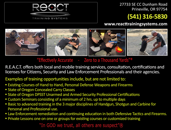 R.E.A.C.T. Training Systems