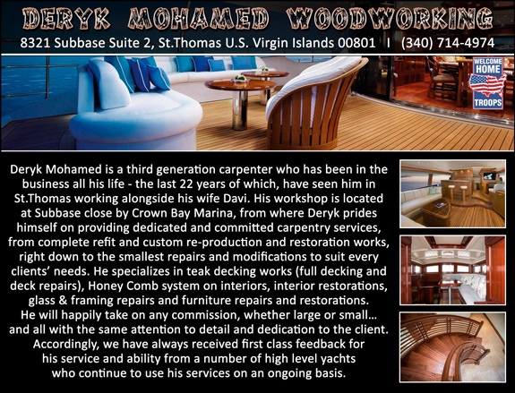 Deryk Mohamed Woodworking