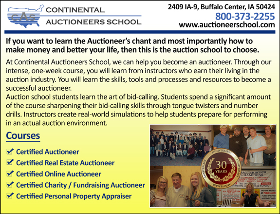 Continental Auctioneers School