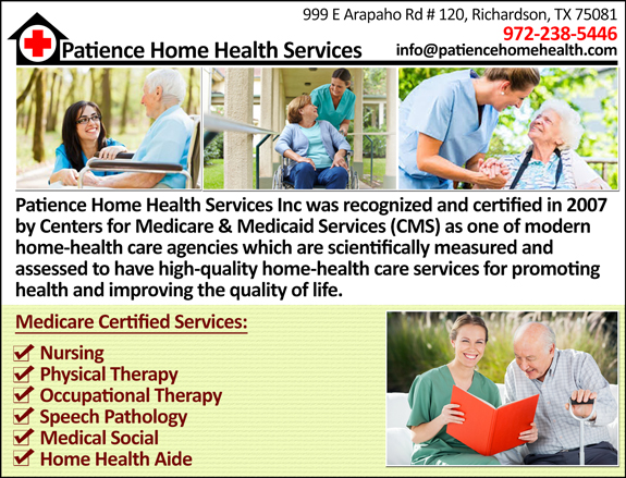 Patience Home Health Services Inc