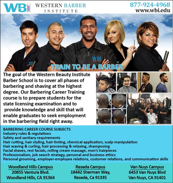 Western Beauty Institute Barber School