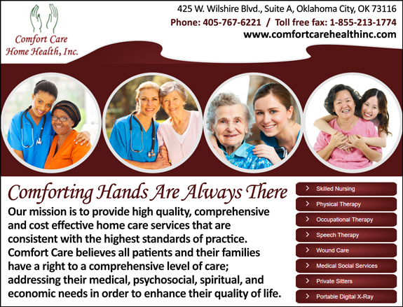 Comfort Care Home Health, Inc