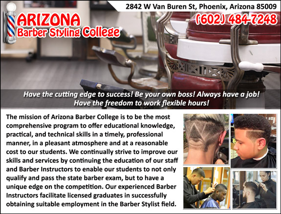 Arizona Barber Styling College