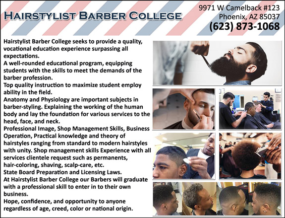Hairstylist Barber College